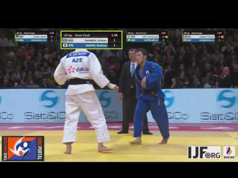Judo Grand Slam Paris 2017 Semifinal -60kg SAFAROV Orkhan (A