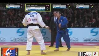 Judo Grand Slam Paris 2017 Semifinal -60kg SAFAROV Orkhan (AZE) vs. TAKATO Naohisa (JPN)