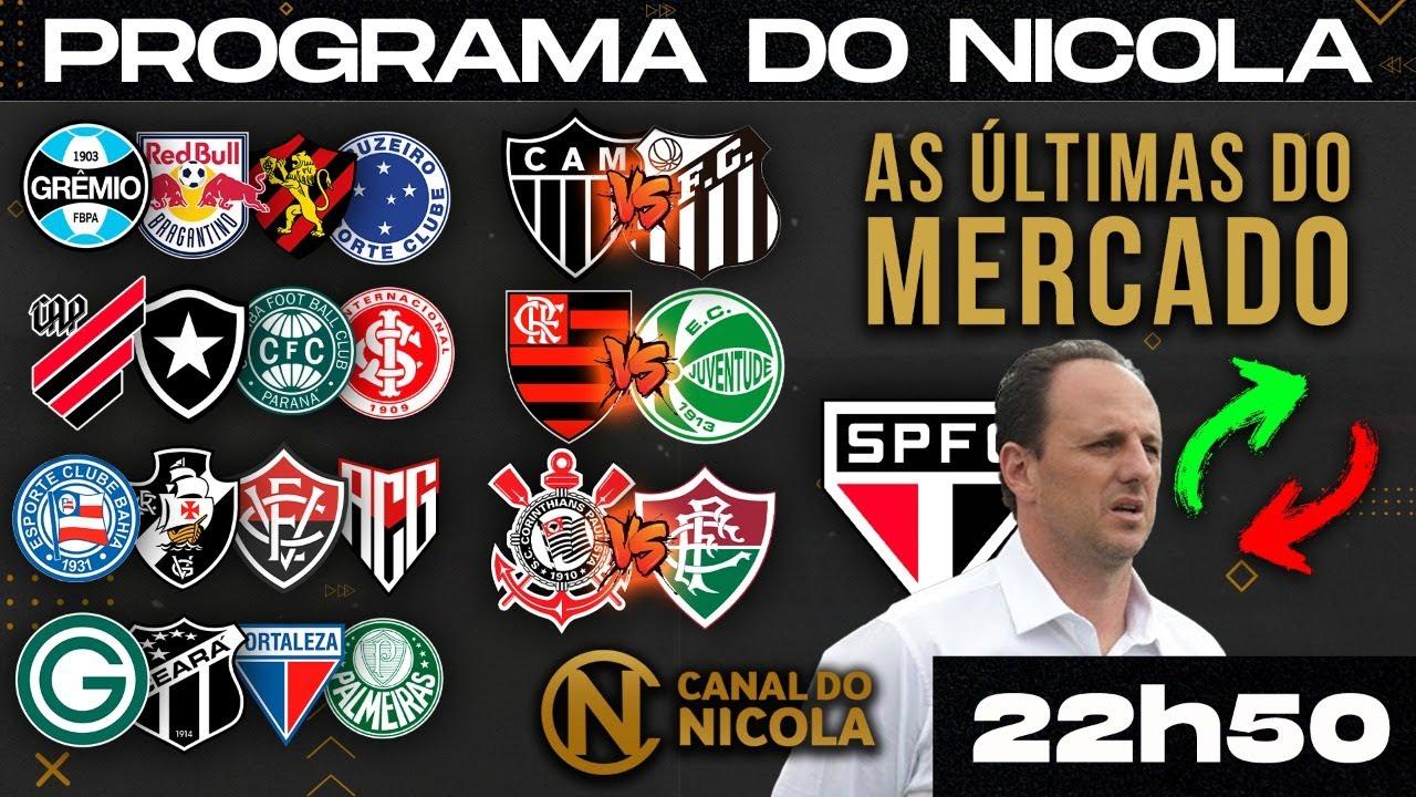Download CENI DE VOLTA AO SP! GALO E FLA VENCEM, TIMÃO 1x0 FLU E FORTALEZA 1x0 GRÊMIO E MERCADO ÀS 22H50