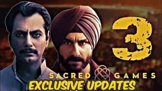 Is Sacred Games Season 3 Coming ? | Sacred Games Season 3 Updates | Sacred Games Season 3 | Netflix