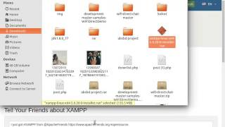 how to install Xampp  in linux