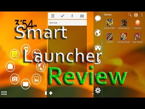 NEW SMART LAUNCHER FREE REVIEW