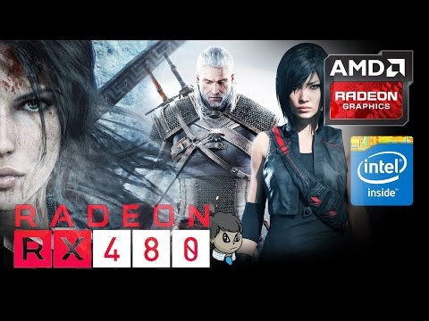 "RX 480 1440P Gaming\ 15 Games in 10 Min \ ""GTA V"" ""Witcher 3"" and More"