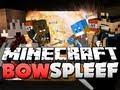 Minecraft TNT Bow Spleef - BOOOOM!! (w/ HuskyMudKipz, BajanCanadian, and Jerome)