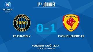 Chambly vs Lyon la Duchère full match