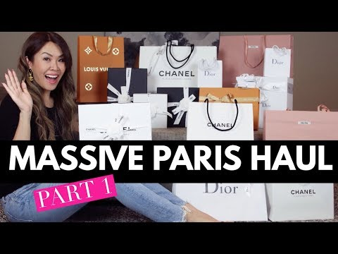 MASSIVE PARIS HAUL & UNBOXINGS - CHANEL, DIOR, LV & more | Mel in Melbourne