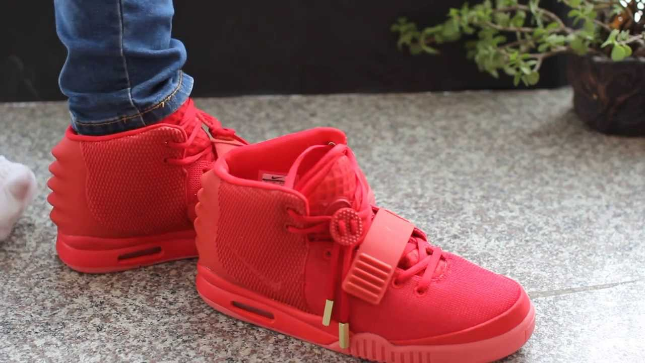 Super Perfect Red October Air Yeezy 2 - Airyeezy2nrg com - YouTube c196e3be09b2