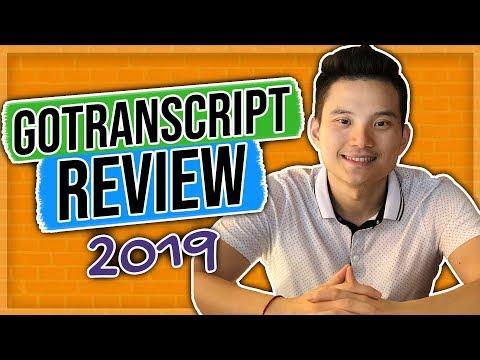 Gotranscript Review 2019 (earn money by doing transcription) thumbnail
