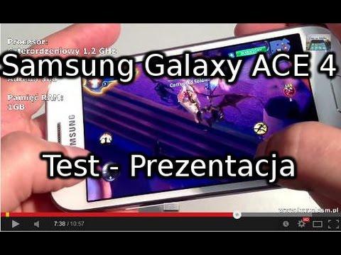 Samsung Galaxy ACE 4 Test - Prezentacja