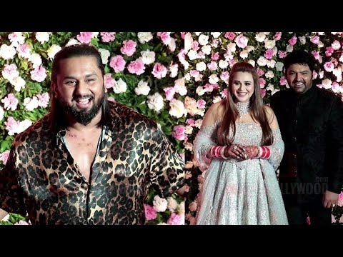 YO YO Honey Singh Crazy AVTAR At Kapil Sharma's Wedding Reception | #WeddingParty