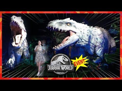 공룡이 나타났다! 쥬라기월드 초대 이벤트! 공룡탐험 티라노 트리케라 스테고 어린이 [유라]