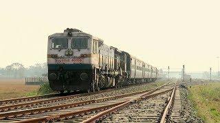 4500hp EMD locomotive SGUJ WDP4D powering Dekargaon (Tezpur) - Bhalukpong (Arunachal Pradesh) Train thumbnail