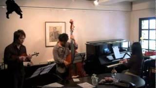 作曲:土村和史 Bass:土村和史 Piano:木村秀子 Violin:西田けんたろう.