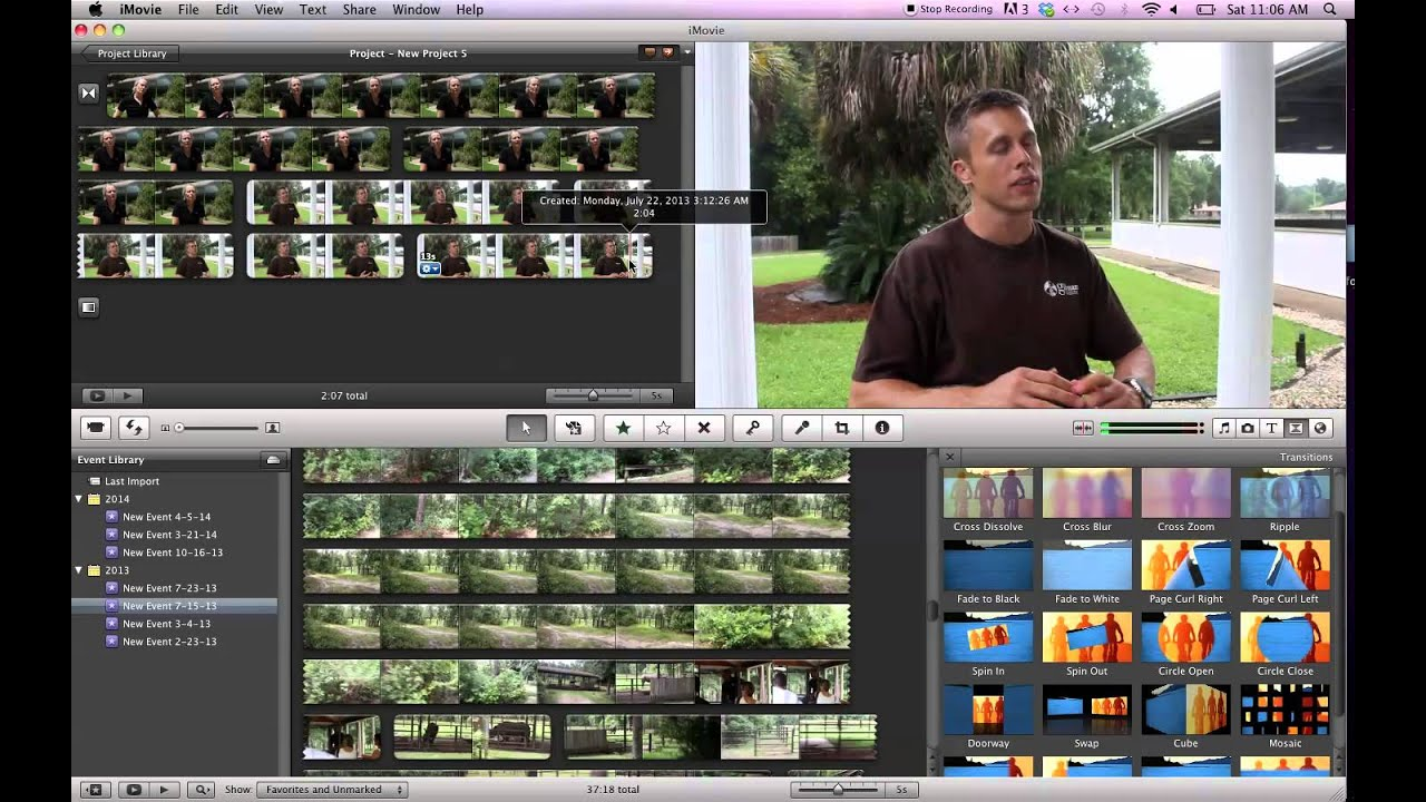 iMovie Tutorial: How to Make a News Video with Interviews and B ...