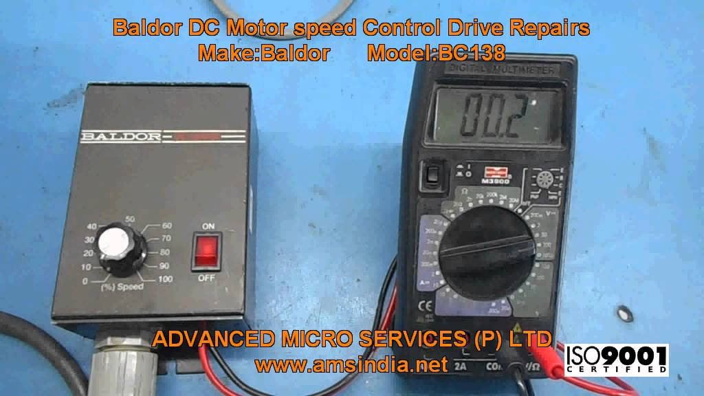 Baldor BC138 DC Motor speed Control Drive Repairs @ Advanced Micro ...