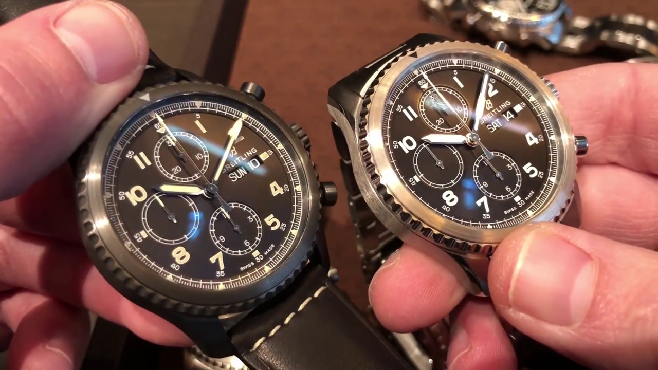 9856134fb17 Hands On: Breitling Navitimer 8 Collection Review - YouTube