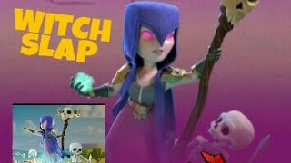 HOW TO GET 3 STAR AT TOWN HALL 9 IN CLASH OF CLANS ||WITCH SLAP ATTACK STRATEGY IN TOWNHALL 9[HINDI]