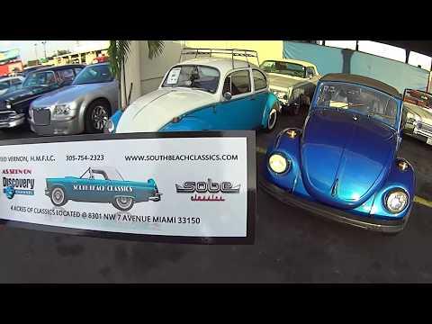 SOUTH BEACH CLASSIC CARS Miami Florida Estados Unidos EUA