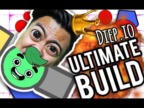 THE ULTIMATE BUILD! | Diep.io