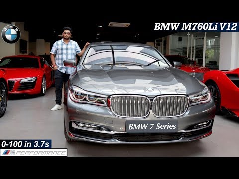 BMW 7 Series 2019 Detailed Review With All Features, On Road Price | BMW M760Li V12