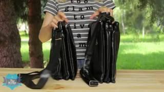 Сумка-планшет мужская Smith черная купить в Украине. Обзор