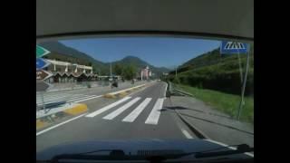 *Zeitraffer* Fahrt durch Südtirol