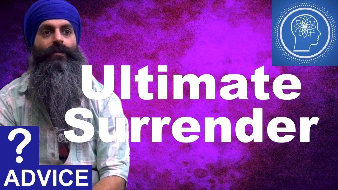 Ultimate sarender