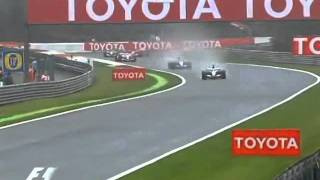 Belgian Grand Prix 2005 - Start (Finnish commentary)