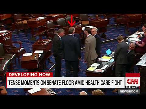 Thumbnail: Tension on Senate floor amid health care fight