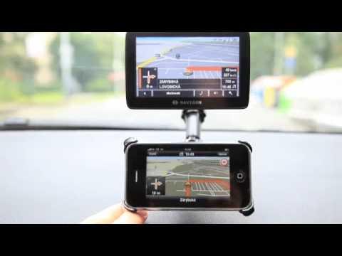 iPhone GPS Navigation NAVIGON