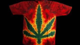 how to make a tie-dye pot leaf