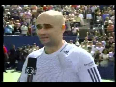 Iranian American Tennis legend , Andre Agassi