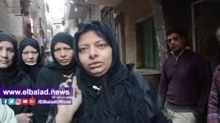 ربة منزل تعيش بلا مأوى بعد انهيار منزلها في البساتين.. فيديو