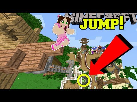 Minecraft: CAN WE MAKE THIS INSANE JUMP?!? - POPULARMMOS WORLD [4]