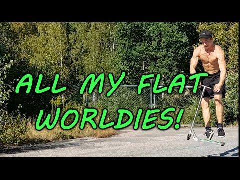 Henrik Palm - ALL MY FLAT WORLD'S FIRST!!