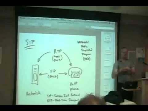 NYLUG Presents: Paul Charles Leddy on The Asterisk Free Software Telephone System (Oct 23, 2008)