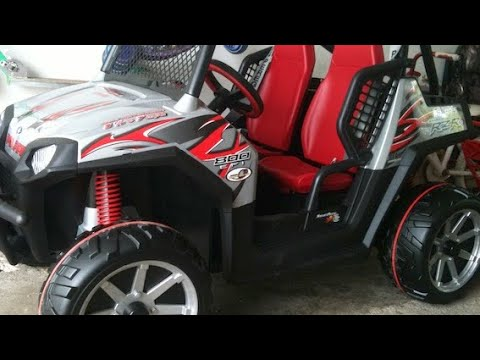 Peg perego 24 volt polaris ranger youtube publicscrutiny Images
