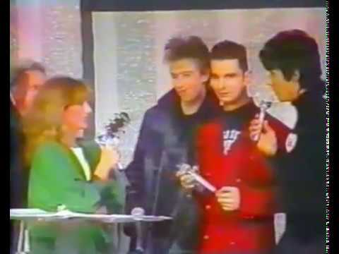 Depeche Mode 1988 inrerview Lahaye D'honneur TF1