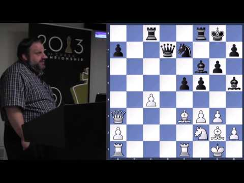 Recent Games (& One Classic) From The World's Best - GM Ben Finegold - 2013.08.07