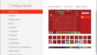 Tips, Trucos, Secretos Windows 8 Cambiar el Fondo y Color de la Pantalla de Inicio 28