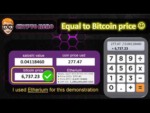 How To Calculate The Bitcoin Price With This Formula | Crypto Hero