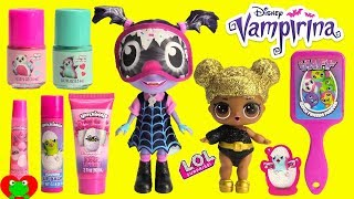 Vampirina Gets Makeover Hatchimal Spa Makeup and Cosmetics