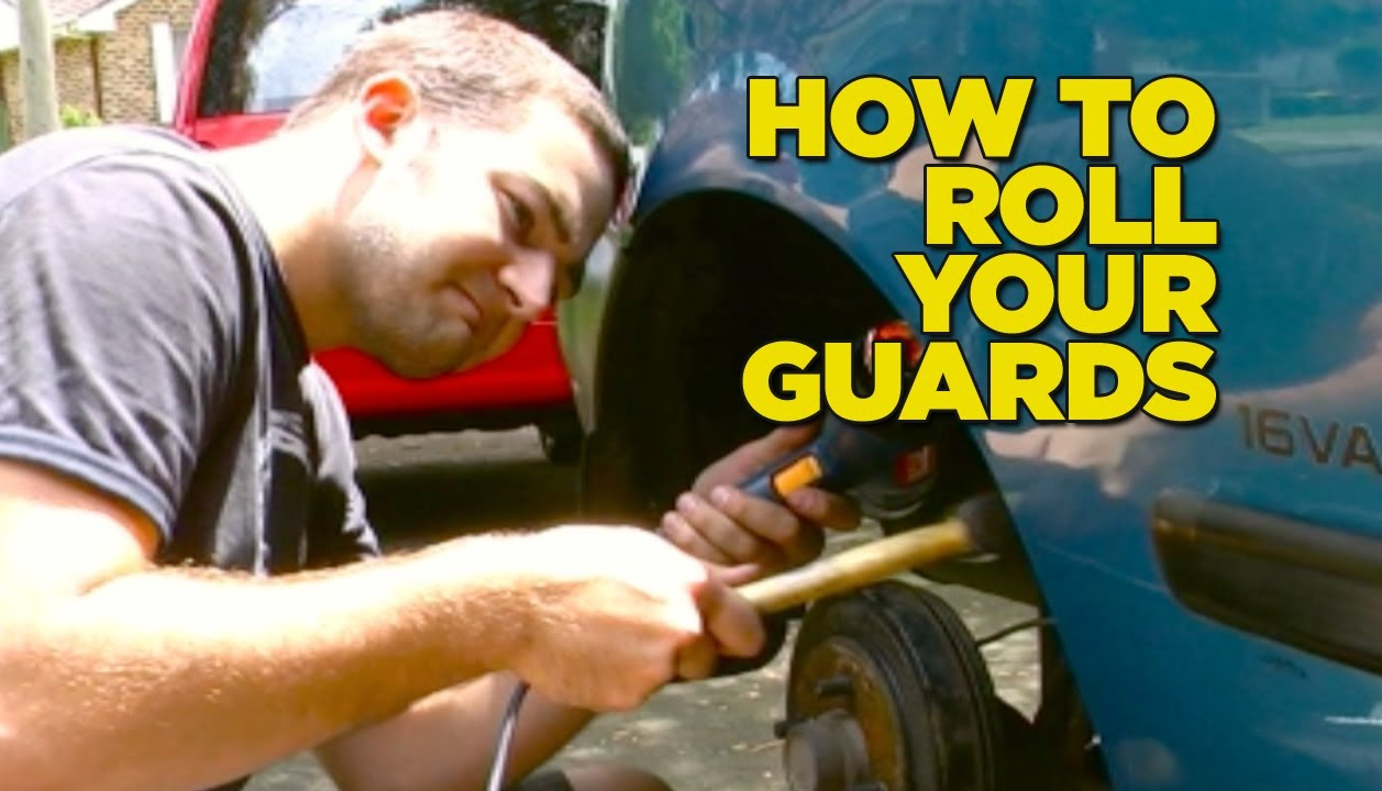 How To Roll Your Guards Diy Youtube Hot Wheels Amp03965 Ford Ranchero Red