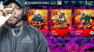 GREATEST SIGNATURE PACK OPENING OF ALL TIME w/NEW 98 OVR ELITES! Madden Mobile 18 Gameplay Ep. 34