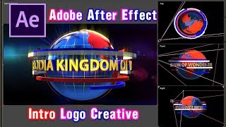 How to create intro - outro News - Creative Promote - Creative Logo (Element 3D - Camera - Light)