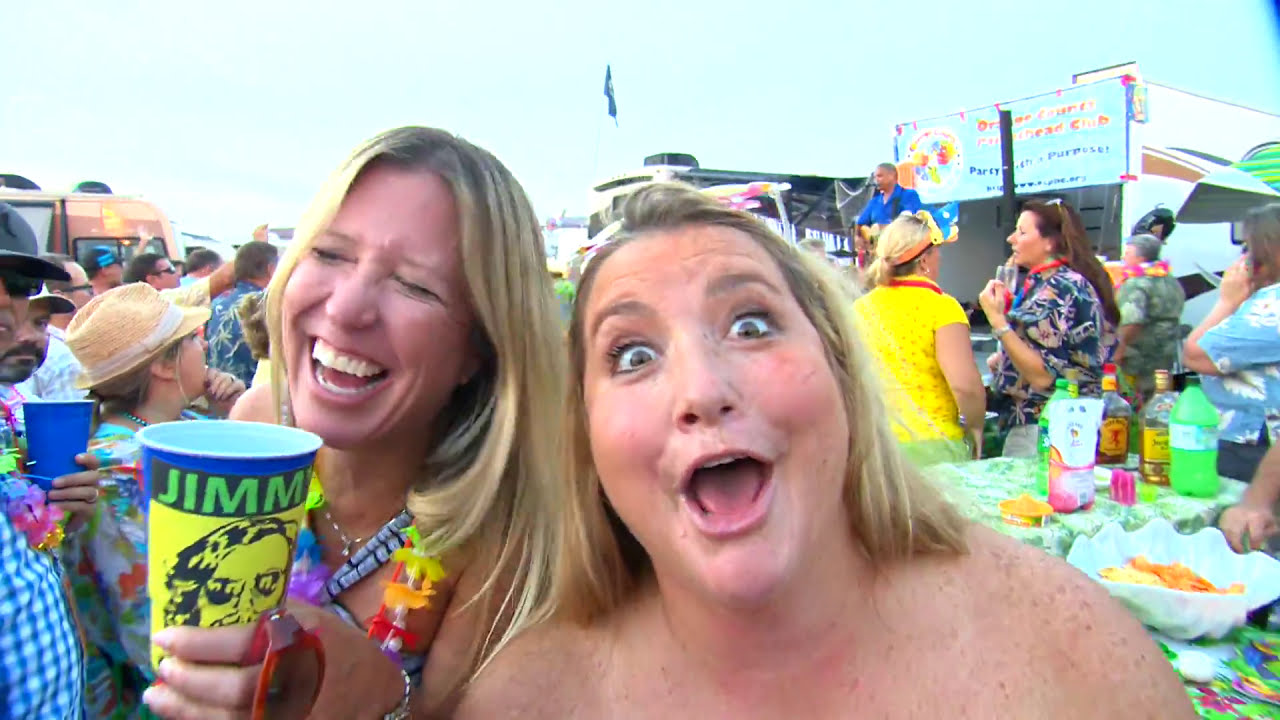 Jimmy Buffett tailgate party!