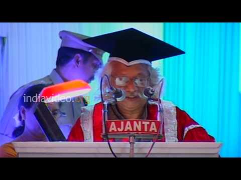 Thanks speech by Adoor Gopalakrishnan, Kerala University
