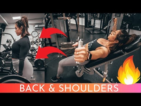 7 Exercises that will improve your posture - back and shoulders workout!