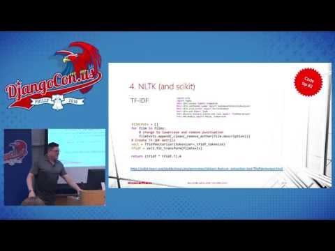 DjangoCon US 2016 - How we Used NLP and Django to Build a... by Vince Salvino
