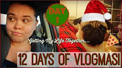 12 DAYS OF VLOGMAS 2017//DAY 1//DEPRESSION, ALL OR NOTHING THINKING//PLUS MY DOG IS ADORABLE!